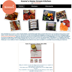 Keenes Home Grown Kitchen
